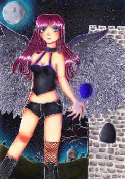 Demonic Angel by PoisonCave