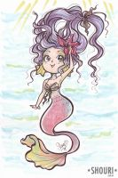 Happy Mermaid (Video #01) by ShouriMajo
