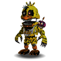Nightmare Chica Accurate by YinyangGio1987