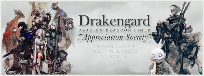 Drakengard Appreciation Society (Cover) by marblegallery7