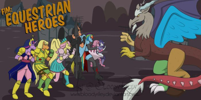 Equestrian Heroes  Season Two Cover! by TheRealKyuubi16
