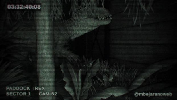 Indominus Rex - Security cam by MB-CG