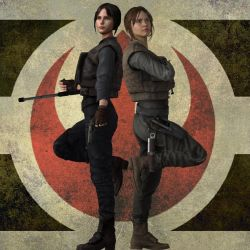 Jyn Erso Own Edition by jc-starstorm