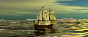 Pirate Ship by newdeal666