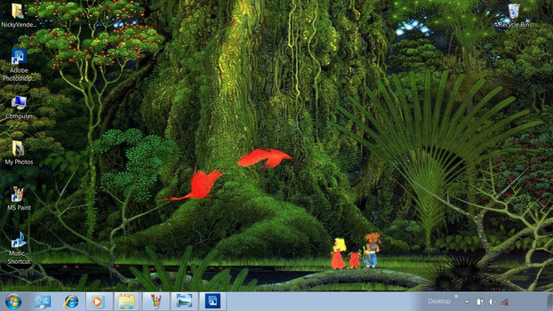 Secret of Mana desktop by NickyVendetta