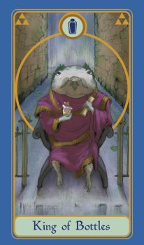 Legend of Tarot - King of Rupees by TheMightyPegasus