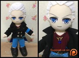Vergil Reboot by renealexa-plushie