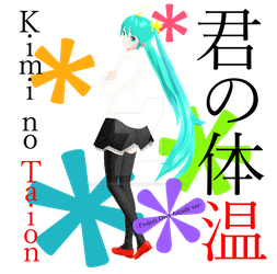 YYB Temperature Miku -PDA Version- by ImNerdyWhoGivesADamn