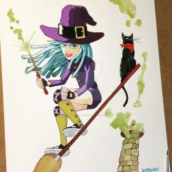 Skater Witch