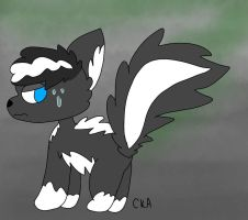 A Nervous Skunk [Baki] by CookieKat-Animations