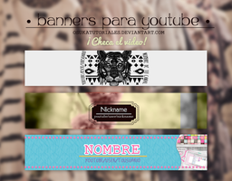 - Banners para YouTube - by osukatutoriales