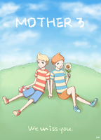 Lucas and Claus -Mother 3- by Kippi