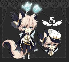 [CLOSED] Elitier Species 02 - Adoptable by SawaiiDoll