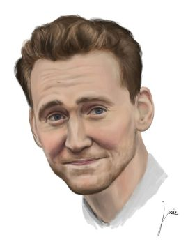 Tom Hiddleston by theartish1