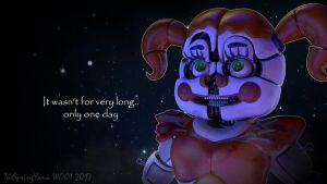 [C4D/FNAF] It wasn't for very long.. only one day by TheSpringYanaWOO