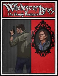 Winchester Bros. Poster Design by TheBeautifulSniper