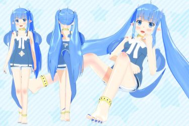 [Outdated] Lulu MMD Model DL CLOSED - Ver 1.12 by Lululewd
