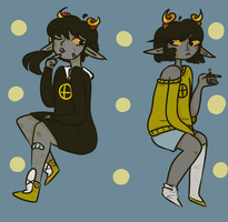 Just some Fantroll Doodles by PearSenpai