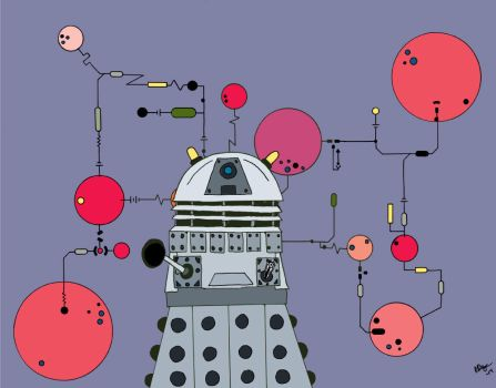 Dalek Schematic Color 01 by nerdliterature