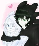Toothless x Toothpaste(Human Version) by JHEKSan2