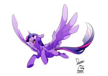 Princess Twilight Sparkle by Dormin-Kanna