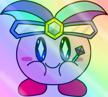 [ART TRADE] Mirror Kirby by TANDY80