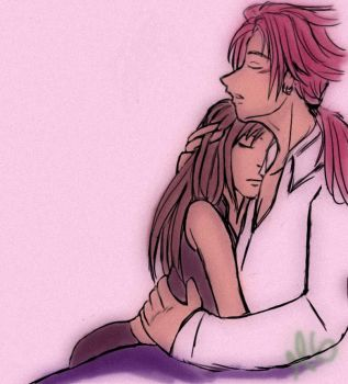 Comfort In Your Arms by Reno-Tifa-Love