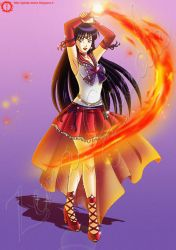 Sailor Mars Challenge by hisui1986