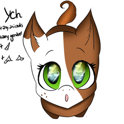 OPEN YCH sky in your eyes by xPasteque