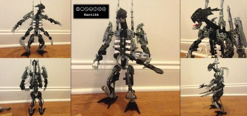Bionicle MOC: Hantikk the Sadistic by Hexidextrous
