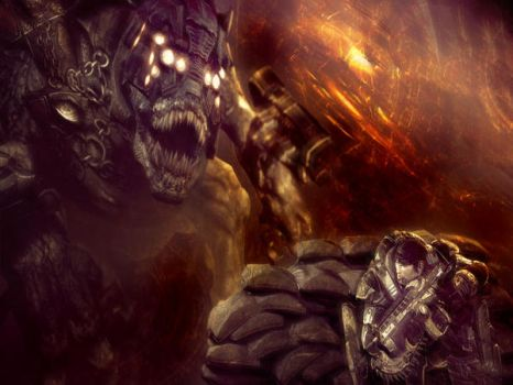 Gears of War Desktop II by Karkan