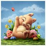 A little easter bunny by Ploopie