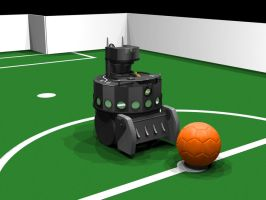 RoboCup Roboter by MartinStg