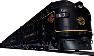 Maryland Locomotive (stock) by linux-rules