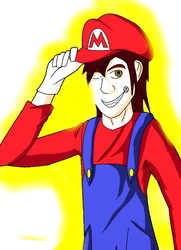 Robin Mario by subjectchanger