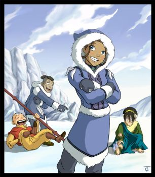 Avatar: The Last Airbender by CamT