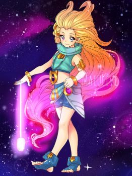 Zoe fan art League of legends by MaiuLive