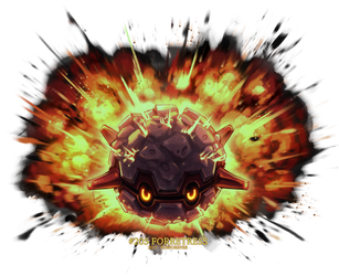 Forretress used Explosion! by Porforever