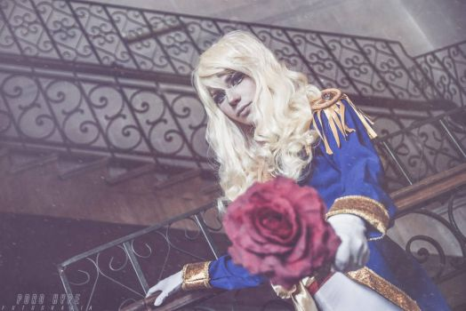 Lady Oscar - The Rose of Versailles by DamianNada