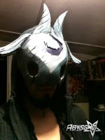 Kindred Wolf's Mask - League of Legends by Abyssmosis