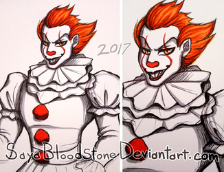 Pennywise by SayaBloodstone