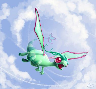 DDF 2014 Day 8: Flygon by Tokoldi