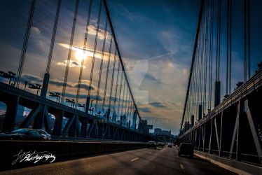 Ben Franklin Bridge - 22 by SkeIator