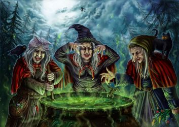 Witches brew by Ka7