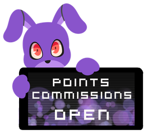 Bonnie Point Commission Open Stamp by InkCartoon