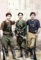 The defenders of Crete 1941 colorized by OldHank