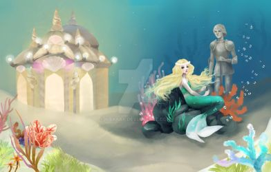 The Little Mermaid by nayara