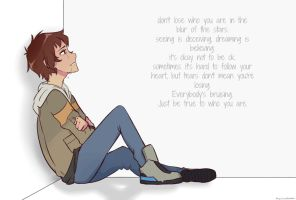 who you are    lance mcclain by AliyahIceQueen