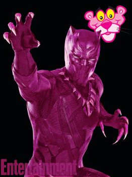 Pink Black Panther by t-me1
