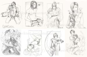 MTAC1 pencil work by evikted